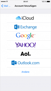 iphone6-ios9-Einstellungen-mail-kontakte-account-hinzufuegen