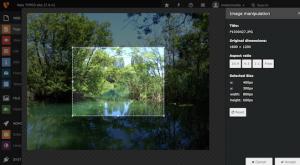 Bei dem Einfügen eines Bildes in einem Inhaltselement können Bilder beschnitten werden